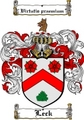 Thumbnail Leck Family Crest  Leck Coat of Arms