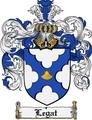 Thumbnail Legat Family Crest Legat Coat of Arms Digital Download