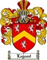 Thumbnail Legood Family Crest  Legood Coat of Arms