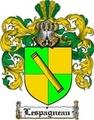 Thumbnail Lespagneau Family Crest  Lespagneau Coat of Arms