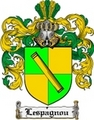 Thumbnail Lespagnou Family Crest  Lespagnou Coat of Arms
