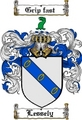 Thumbnail Lessely Family Crest  Lessely Coat of Arms