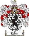Thumbnail Levitt Family Crest  Levitt Coat of Arms