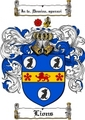 Thumbnail Lions Family Crest  Lions Coat of Arms