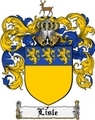 Thumbnail Lisle Family Crest Lisle Coat of Arms Digital Download