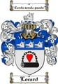 Thumbnail Locard Family Crest  Locard Coat of Arms