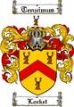Thumbnail Locket Family Crest  Locket Coat of Arms