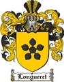 Thumbnail Longueret Family Crest  Longueret Coat of Arms