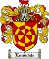 Thumbnail Lonsdale Family Crest Lonsdale Coat of Arms Digital Download