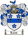 Thumbnail Lorde Family Crest  Lorde Coat of Arms