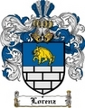 Thumbnail Lorenz Family Crest  Lorenz Coat of Arms