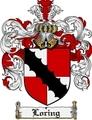 Thumbnail Loring Family Crest Loring Coat of Arms Digital Download