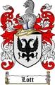 Thumbnail Lott Family Crest  Lott Coat of Arms