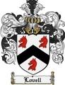 Thumbnail Lovell Family Crest Lovell Coat of Arms Digital Download