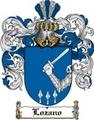 Thumbnail Lozano Family Crest  Lozano Coat of Arms
