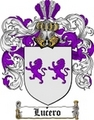 Thumbnail Lucero Family Crest  Lucero Coat of Arms