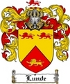Thumbnail Lunde Family Crest  Lunde Coat of Arms