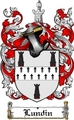 Thumbnail Lundin Family Crest  Lundin Coat of Arms