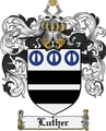 Thumbnail Luther Family Crest Luther Coat of Arms Digital Download