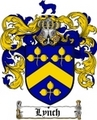 Thumbnail Lynch Family Crest / Lynch Coat of Arms