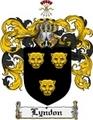 Thumbnail Lyndon Family Crest Lyndon Coat of Arms Digital Download
