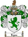 Thumbnail Lyon Family Crest / Lyon Coat of Arms