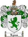 Thumbnail Lyons Family Crest / Lyons Coat of Arms