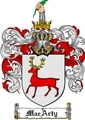 Thumbnail Macarty Family Crest  Macarty Coat of Arms