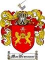 Thumbnail Macbrennan Family Crest  Macbrennan Coat of Arms
