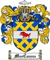 Thumbnail Maccanna Family Crest  Maccanna Coat of Arms