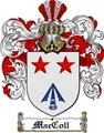 Thumbnail Maccoll Family Crest  Maccoll Coat of Arms