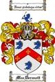 Thumbnail Macdermott Family Crest  Macdermott Coat of Arms