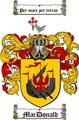 Thumbnail Macdonald Family Crest / Macdonald Coat of Arms