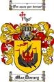 Thumbnail Macdonny Family Crest  Macdonny Coat of Arms