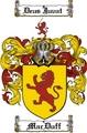 Thumbnail Macduff Family Crest  Macduff Coat of Arms