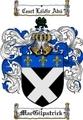 Thumbnail Macgilpatrick Family Crest  Macgilpatrick Coat of Arms