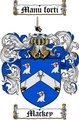 Thumbnail Mackey Family Crest  Mackey Coat of Arms