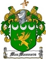 Thumbnail Macmanners Family Crest  Macmanners Coat of Arms