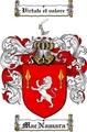 Thumbnail Macnamara Family Crest  Macnamara Coat of Arms