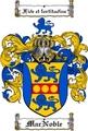 Thumbnail Macnoble Family Crest  Macnoble Coat of Arms