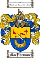 Thumbnail Macphersone Family Crest  Macphersone Coat of Arms