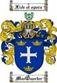 Thumbnail Macquarter Family Crest  Macquarter Coat of Arms