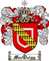 Thumbnail Macquigg Family Crest  Macquigg Coat of Arms