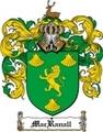 Thumbnail Macranall Family Crest  Macranall Coat of Arms