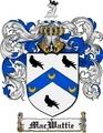 Thumbnail Macwattie Family Crest  Macwattie Coat of Arms