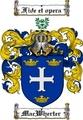 Thumbnail Macwherter Family Crest  Macwherter Coat of Arms