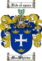 Thumbnail Macwhirter Family Crest  Macwhirter Coat of Arms