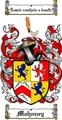 Thumbnail Mahoney Family Crest  Mahoney Coat of Arms