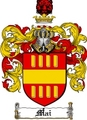 Thumbnail Mai Family Crest  Mai Coat of Arms