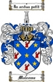 Thumbnail Malcome Family Crest  Malcome Coat of Arms